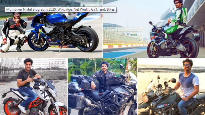 Mumbiker Nikhil Biography 2020, Wiki, Age, Net Worth, Girlfriend, Bikes