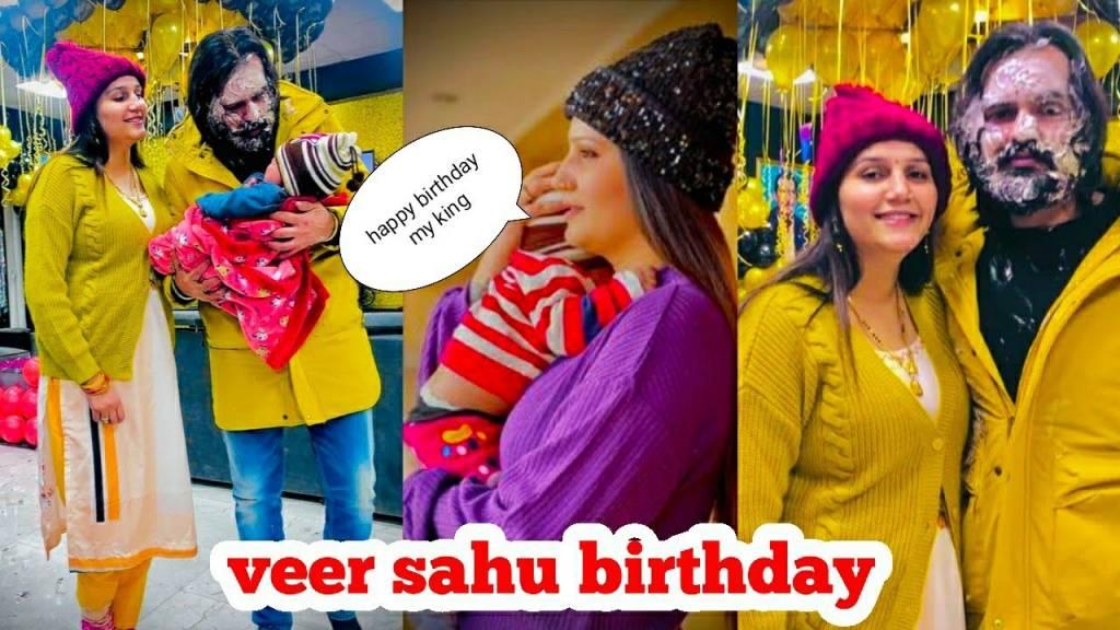 Sapna Choudhary Celebrates Husband Veer Sahu's Birthday